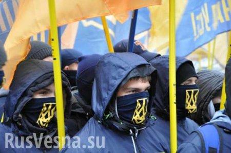 Против «формулы» икапитуляции: неонацисты начинают акции протеста вКиеве  ...