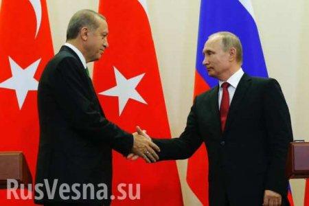 Путин высказал Эдогану претензии поСирии, президент Турции готовится летет ...