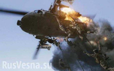 Падение «Чёрного ястреба»: ВСирии сбит военный вертолёт (ФОТО)