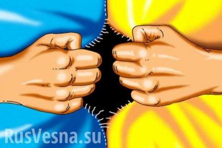 В Киеве поделили Украину на три государства