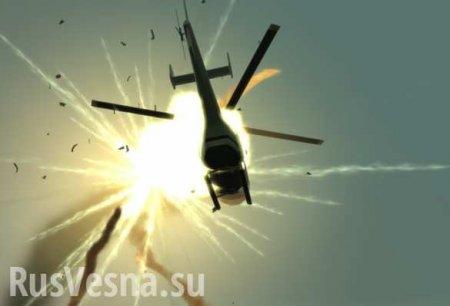Под Полтавой разбился вертолёт с украинским экс-министром (ФОТО)
