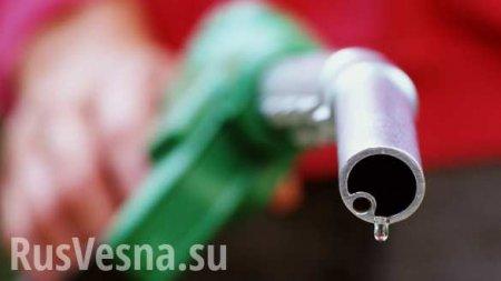 В России рекордно упал спрос на бензин