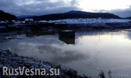 Стало известно обэкстремальном загрязнении воды после прорыва дамбы подКр ...