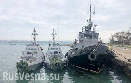 В Совфеде рассказали, как Украина может вернуть задержанные в Крыму корабли