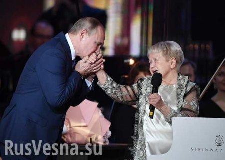«Ты моямелодия» — Путин удостоил легендарную Пахмутову высочайшей награды (ВИДЕО)