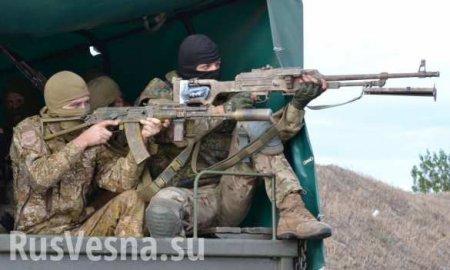Укарателей странные «боевые потери», задержана партия оружия для нацистов: сводка ЛНР
