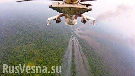 Военные ВСУнанесли авиаудар побоевикам