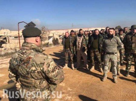 Армия Сирии вместе с российскими военспецами готовится к уничтожению врага  ...