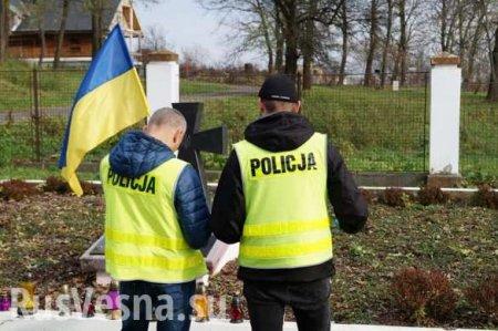 ВПольше осквернили могилы украинских нацистов (ФОТО)