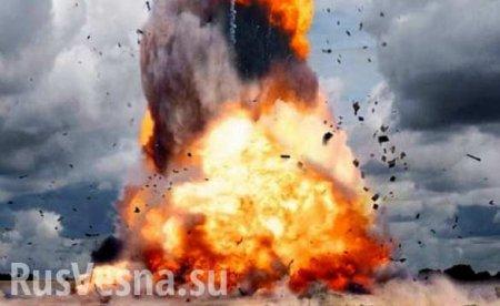СРОЧНО: подХарьковом взрывы наарсенале, есть пострадавший (ВИДЕО)