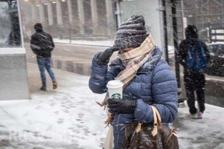 Русская «циклон-бомба» парализовала США: отменяются тысячи авиарейсов, бьются машины и закрываются предприятия (ФОТО, ВИДЕО)