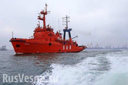 Украина отправила буксиры за задержанными Россией кораблями