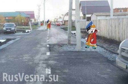 Шокирующие столбы посреди дороги: губернатор Владимирской области сделал жё ...