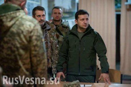 Selensky hat den Hauptpunkt vergessen, uber die «Ruckkehr von Donbass» spre ...