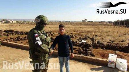 Русские «Вежливые люди» и арабские красавицы у границы с Иорданией (ФОТО)