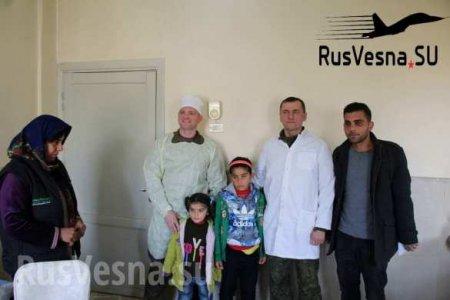 «Люди в белом»: Особый отряд армии России прибыл на север Сирии (ФОТО, ВИДЕО)