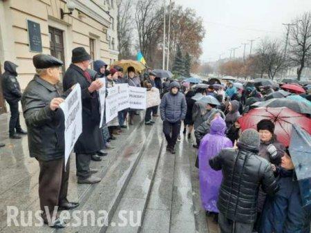 В Запорожье АТОшники и пророссийские активисты поспорили о мире на Донбассе (ФОТО)