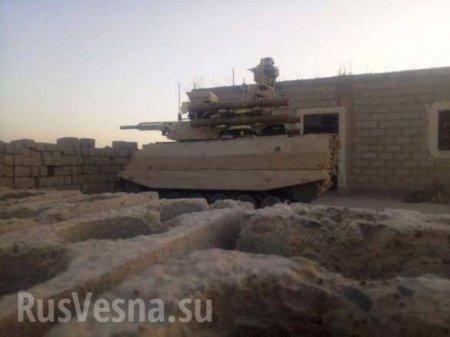 Российский комплекс «Уран-9» заметили в Сирии (ФОТО, ВИДЕО)