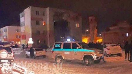 СРОЧНО: В Белгороде в четырёхэтажке прогремел взрыв, обрушилась стена (ФОТО, ВИДЕО)