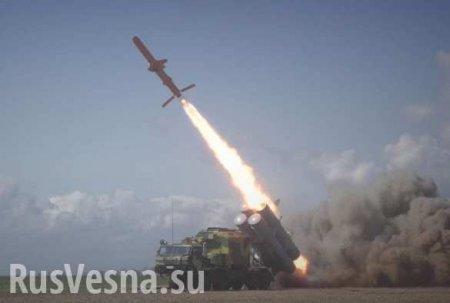Лётчик снял полёт Су-27 рядом сукраинской крылатой ракетой (ВИДЕО)