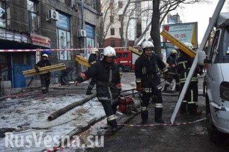 На пепелище страшного пожара в Одессе обнаружены тела всех погибших (ФОТО, ВИДЕО)