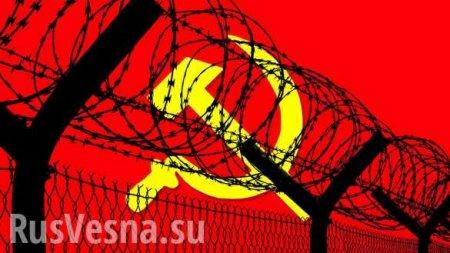 НаУкраине мужчина получил годусловно засоветский флаг вДень Победы (ФОТ ...