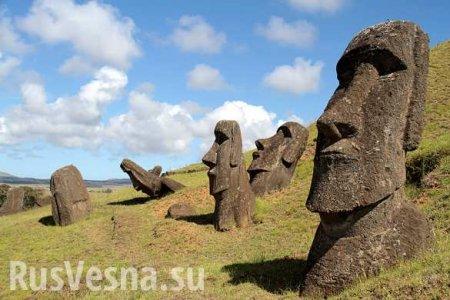 Учёные раскрыли тайну истуканов с острова Пасхи