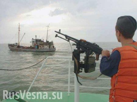 Российские пограничники задержали пять японских судов