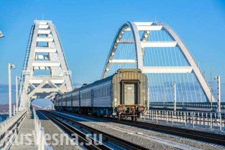 В Госдуме ответили на заявление США про движение по Крымскому мосту (ВИДЕО)