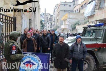 Сирия: один насыщенный день армии России (ФОТО)