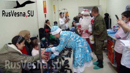 Снегурочка в камуфляже: спецоперация армии России в Сирии (ФОТО)