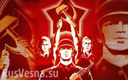 Советская новогодняя открытка нанесла непоправимый душевный ущерб украинскому неонаци (ФОТО)