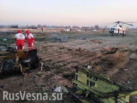 Авиакатастрофа украинского Боинга в Иране — новые детали (ВИДЕО)