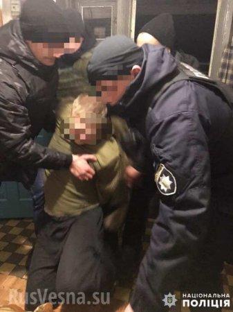 Отвёрткой влицо: Хулиган напал научасткового подКиевом (ФОТО)