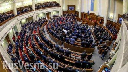 Украинского депутата поймали на странном поведении прямо в зале заседаний (+ВИДЕО)