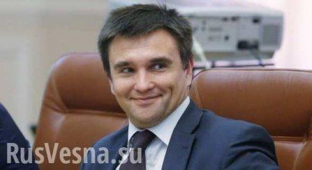 Противодействовать «российской агрессии»: Климкин нашёл новую работу