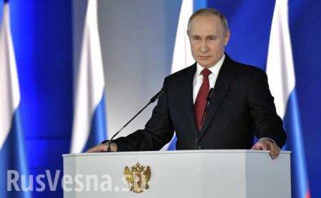«Послание Путина — мощный удар по оппозиции» (ВИДЕО)