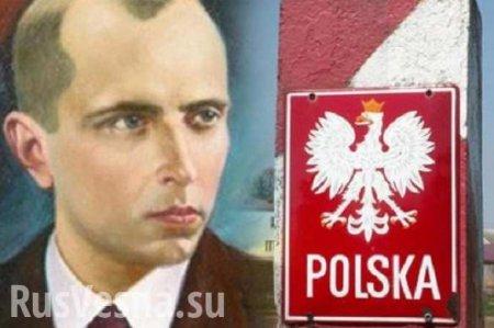 В Польше уничтожили памятную доску на могиле боевиков УПА (ФОТО)