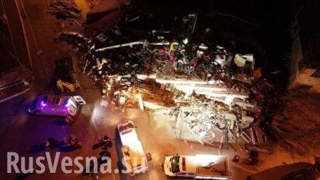 Серьёзное землетрясение в Турции, десятки погибших (ФОТО, ВИДЕО)