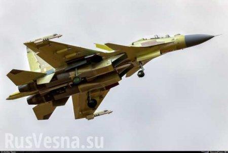 В Алжире разбился истребитель Су-30 (ФОТО)