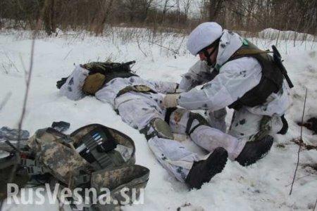 У карателей «боевые» потери и проблемы из-за беглеца, прихватившего важные военные документы (ВИДЕО)