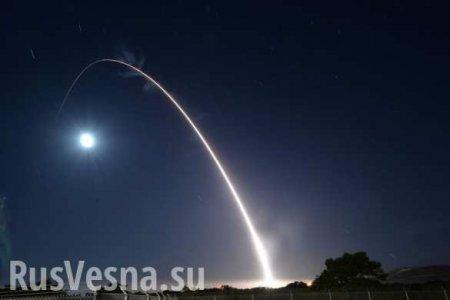 США испытали межконтинентальную ракету Minuteman (ФОТО, ВИДЕО)