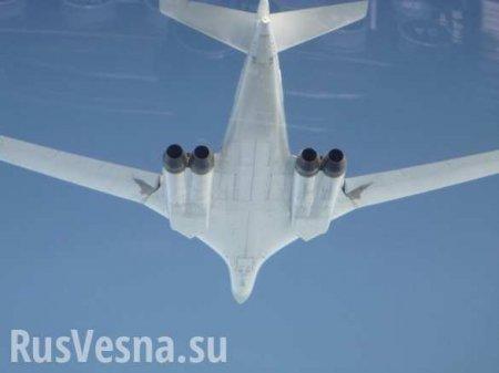 Первый полёт модернизированного стратегического ракетоносца Ту-160М — кадры Минобороны (ВИДЕО)