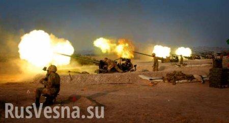 Турция нанесла массированный удар попозициям сирийской армии