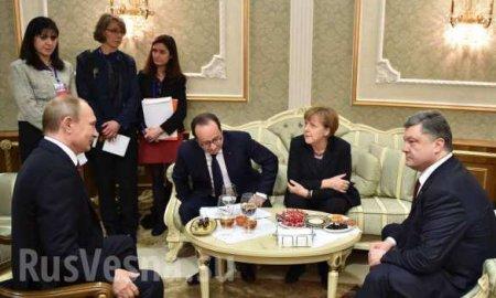 Самая ужасная ночь в моей жизни, — Порошенко о переговорах с Путиным (ФОТО)
