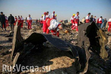 «Мы непланируем ждать долго»: Украина намерена судиться сИраном из-за сбитого самолёта