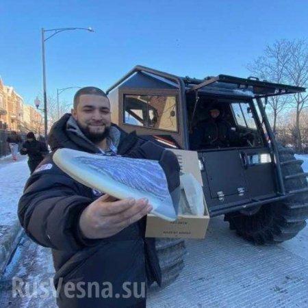 Скандальный рэпер на российских вездеходах «вторгся» в Чикаго (ФОТО, ВИДЕО)