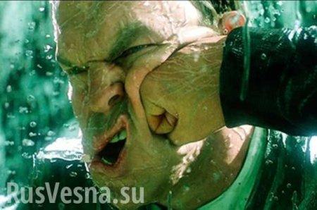 «Давай, девочка!» — опубликованы эпичные кадры драки депутата и блогера на Донбассе (ВИДЕО)