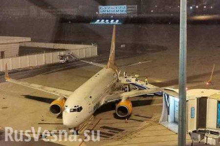 Борт из Уханя прибывает на Украину (+ФОТО)