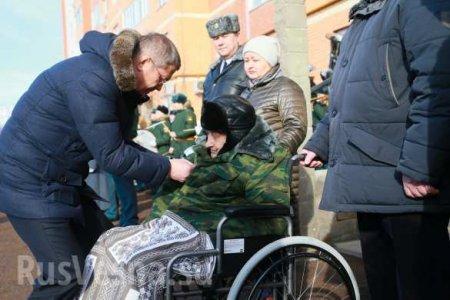 Персональный парад: военные вУфепоздравили102-летнего ветерана Великой Отечественной войны (ФОТО)
